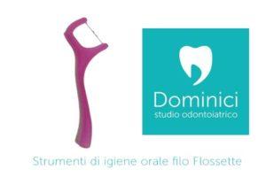 strumenti di igiene orale flossette