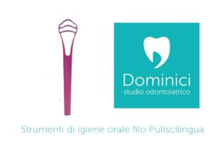 strumenti di igiene orale puliscilingua