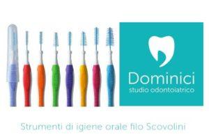 strumenti di igiene orale scovolini