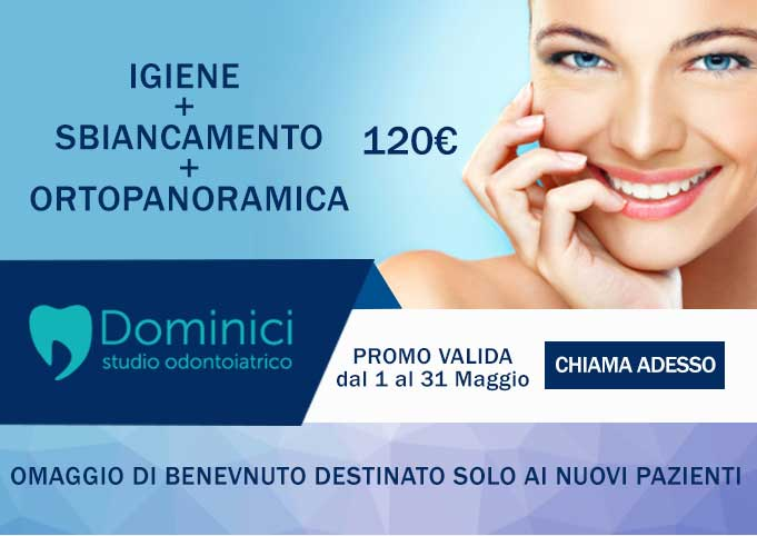dentista eur dominici igiene dentale e sbiancamento e ortopanoramica a 120 euro